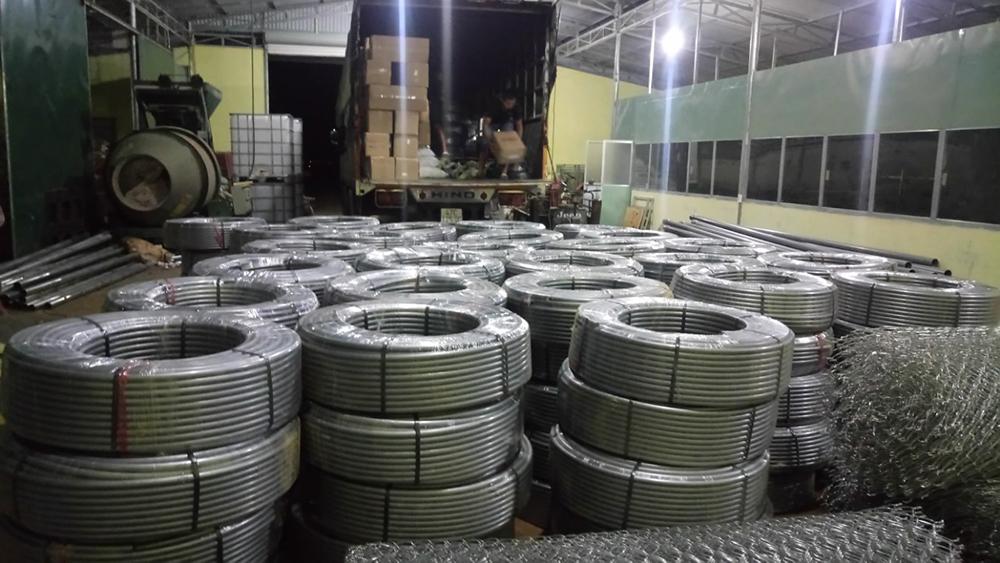 Ống ldep bạc phục vụ dự án tưới tại Gia Nghĩa - Dak Nông